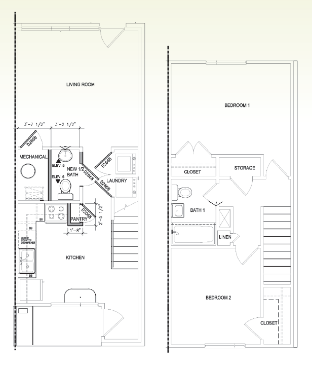 Floor Plans Of Gallery At West Greenville In Greevnille, SC