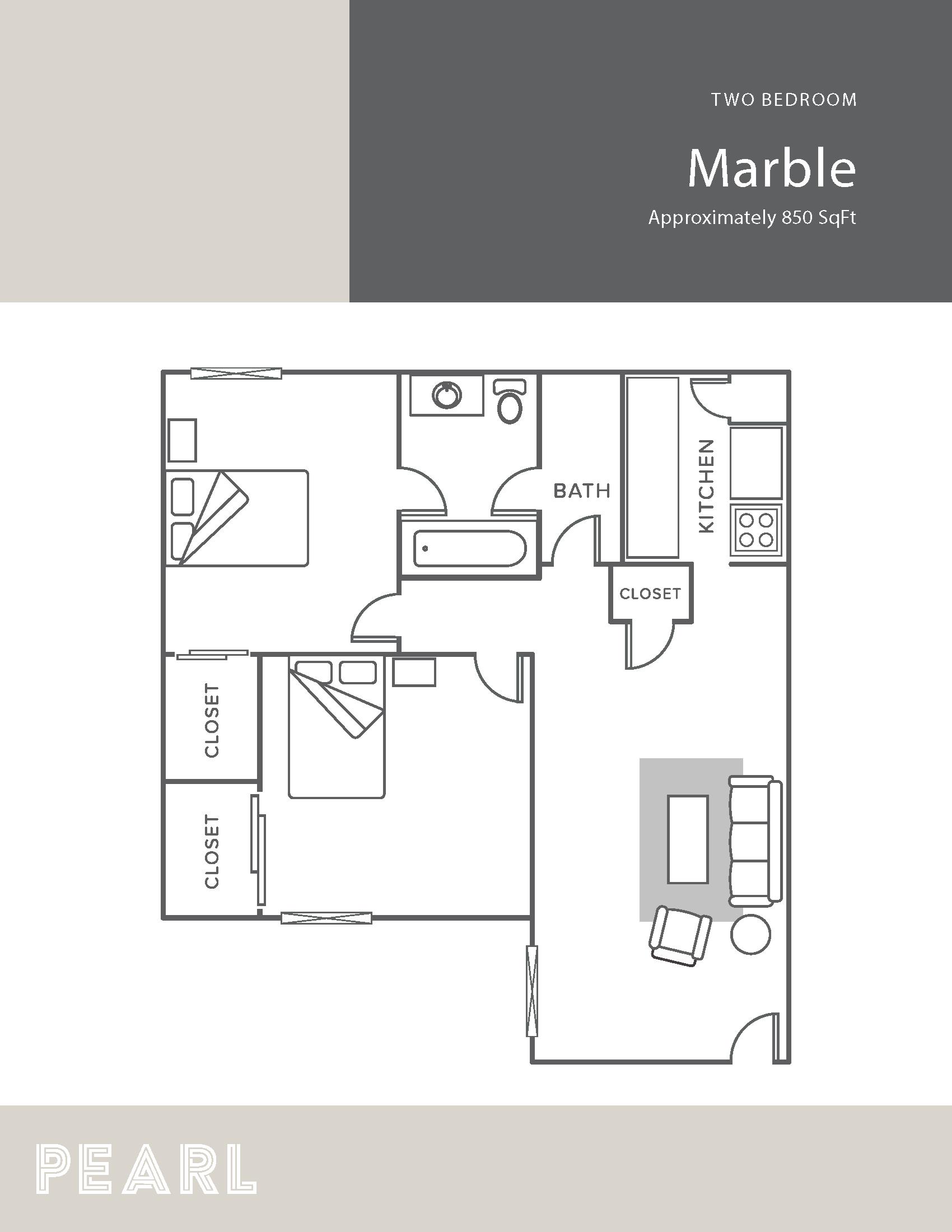 Marble Floor Plan 14