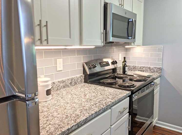 New Counter Tops and Cabinets at STONEGATE, Birmingham, Alabama