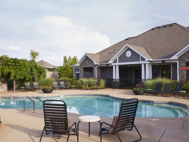 Pool Side Relaxing Area at STONEGATE, Birmingham, AL, 35211