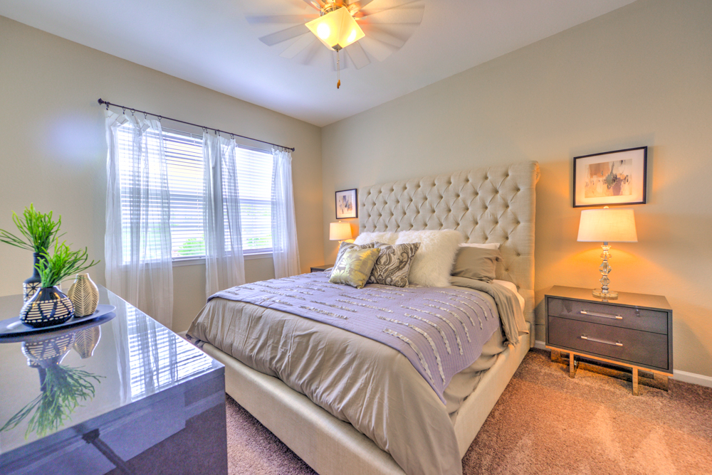 Bedroom with natural light at Century Deerwood Park