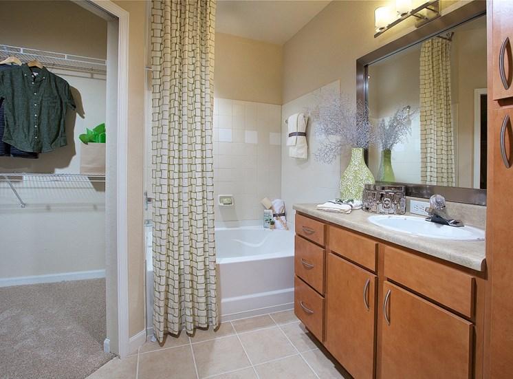 luxury bathrooms at Century Deerwood Park, Jacksonville, Florida