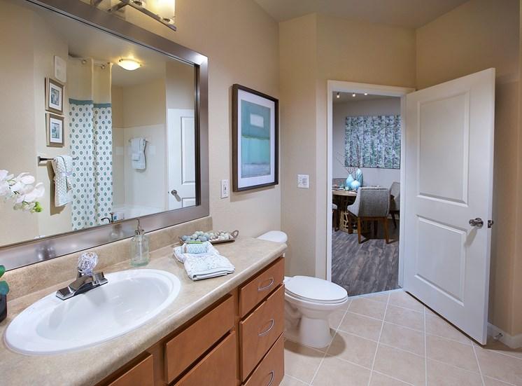 Bathroom Mirror at Century Deerwood Park, Florida