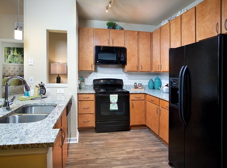 Fully Organised Kitchen at Century Deerwood Park, Jacksonville, Florida