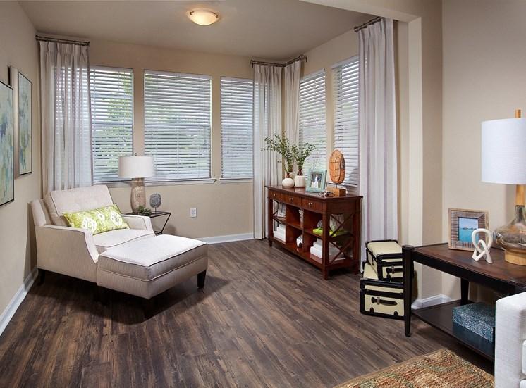 Hardwood Floors at Century Deerwood Park, Florida