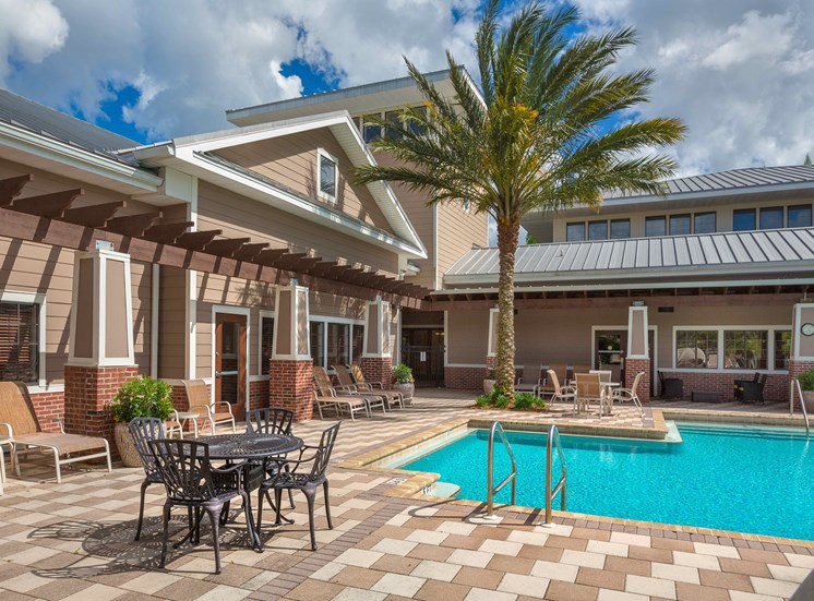 Two Resort-Style Swimming Pools and Spas at Century Deerwood Park, Jacksonville, FL