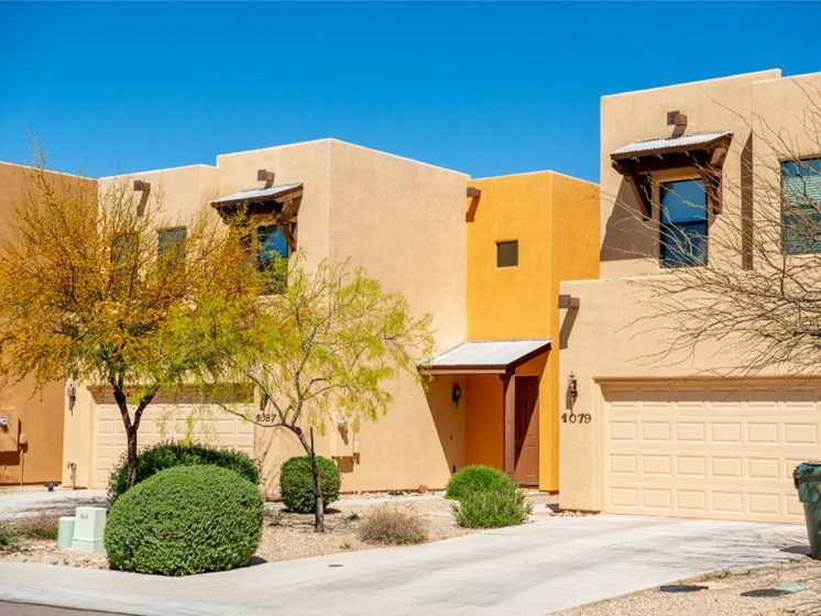 exterior and landscaping at Coronado Commons and Villas in Sierra Vista AZ