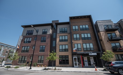 Confluence on 3rd Apartments in Downtown Des Moines