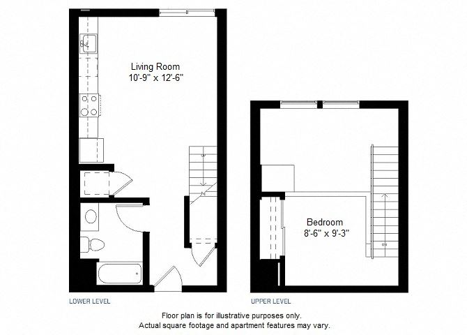 A2 floor plan at Windsor at Dogpatch, California, 94107