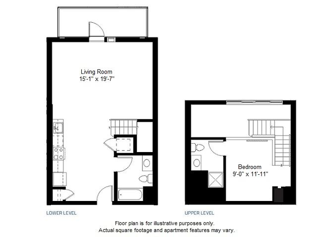 A6 floor plan at Windsor at Dogpatch, 2660 3rd Street, 94107