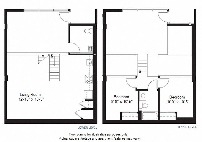 B1 floor plan at Windsor at Dogpatch, CA, 94107