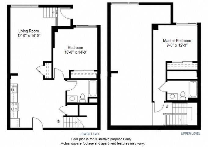 B14 floor plan at Windsor at Dogpatch, California, 94107