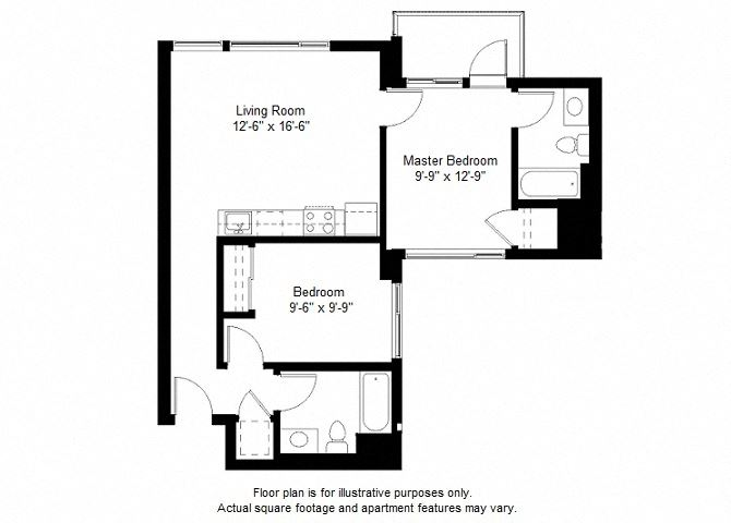 B5 floor plan at Windsor at Dogpatch, 2660 3rd Street, 94107