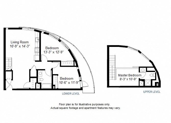 C2 floor plan at Windsor at Dogpatch, CA, 94107