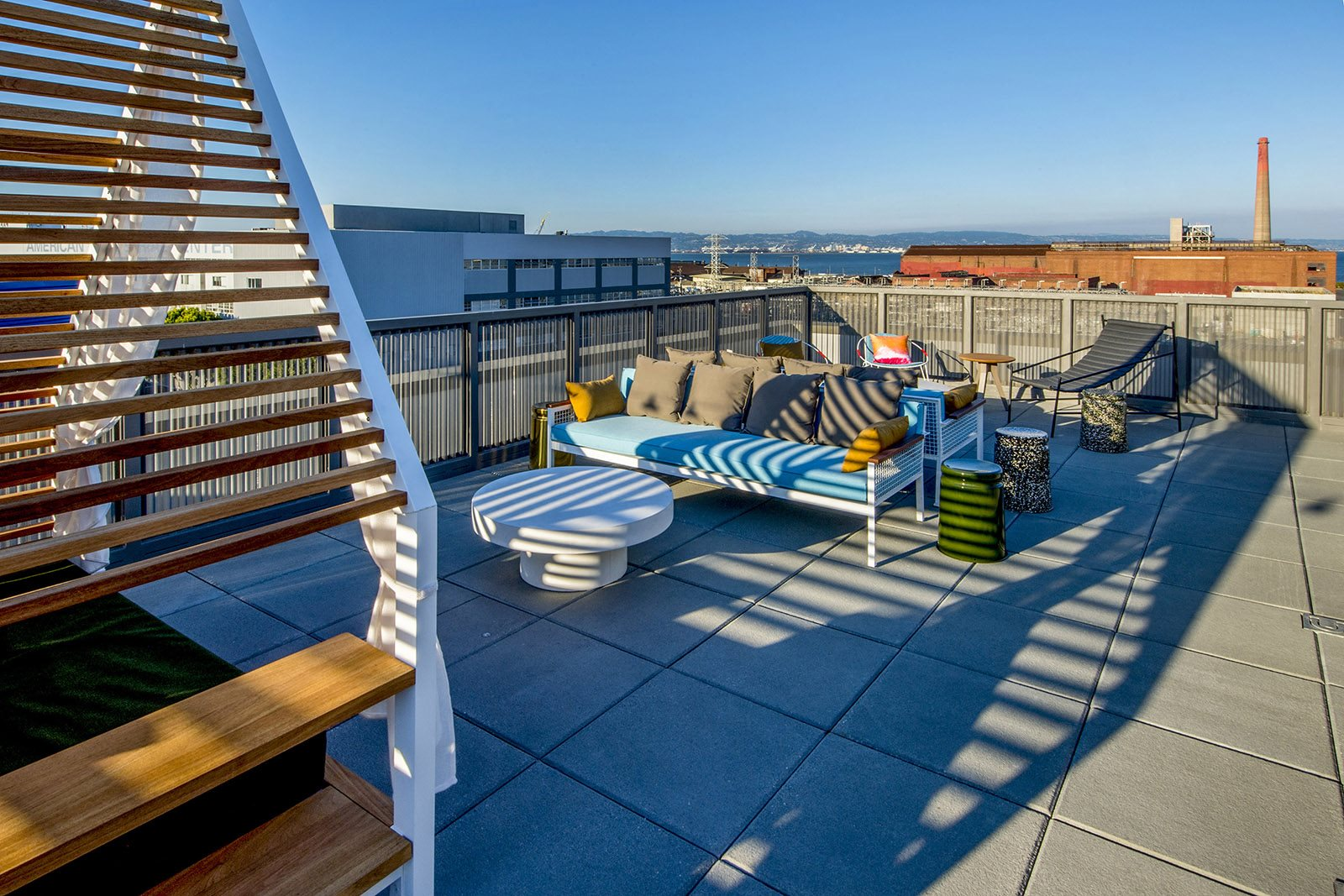 Amenities-Cabanas, Lounging and Dining Spaces and Barbecue Grill
