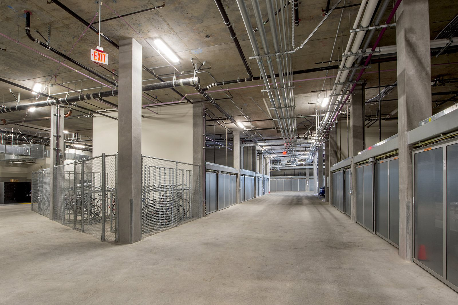 Amenities- Controlled-access resident parking and bike storage