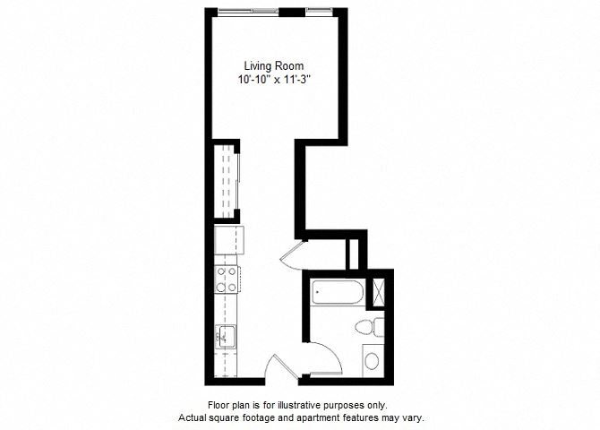 S10 floor plan at Windsor at Dogpatch, San Francisco, CA