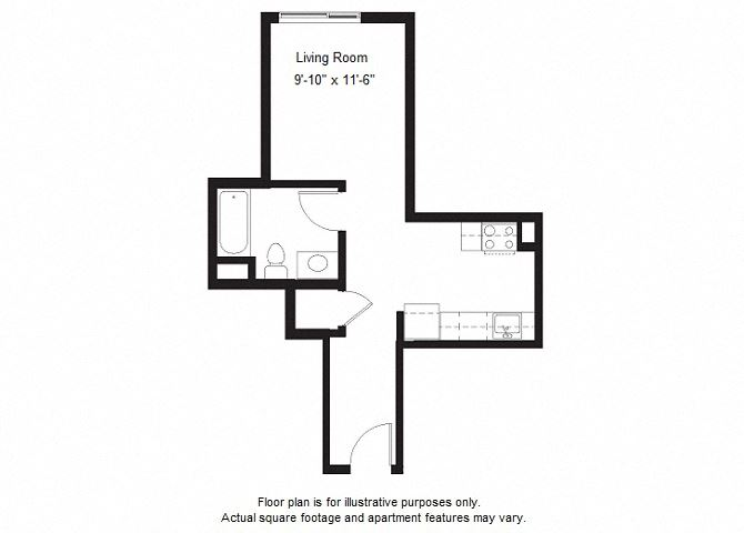 S11 floor plan at Windsor at Dogpatch, CA, 94107