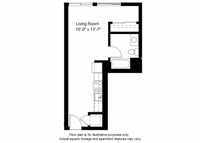 S3 floor plan at Windsor at Dogpatch, San Francisco, California