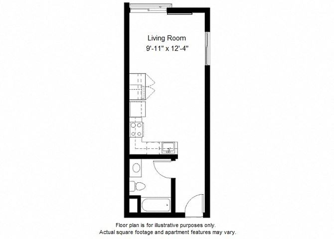 S4 floor plan at Windsor at Dogpatch, California, 94107
