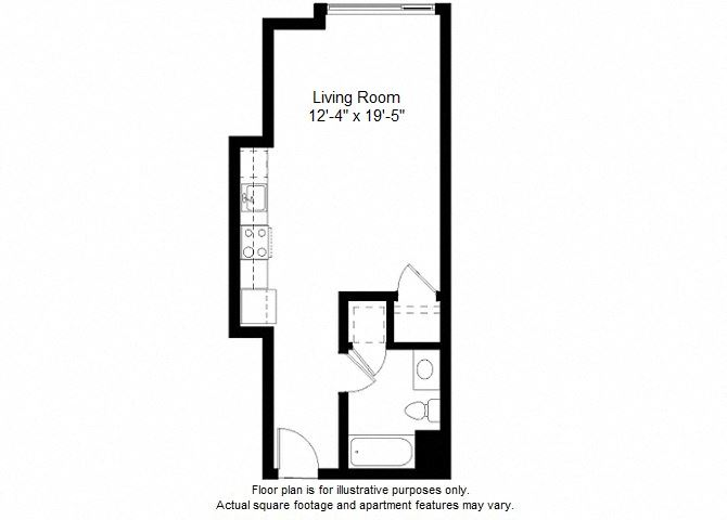 S5 floor plan at Windsor at Dogpatch, 2660 3rd Street, 94107