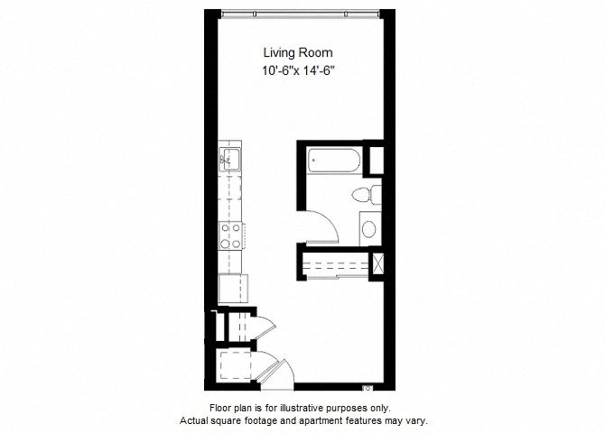 S6 floor plans at Windsor at Dogpatch, San Francisco, California