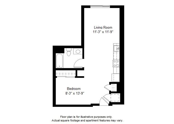 Updated S9 floor plan at Windsor at Dogpatch, California, 94107