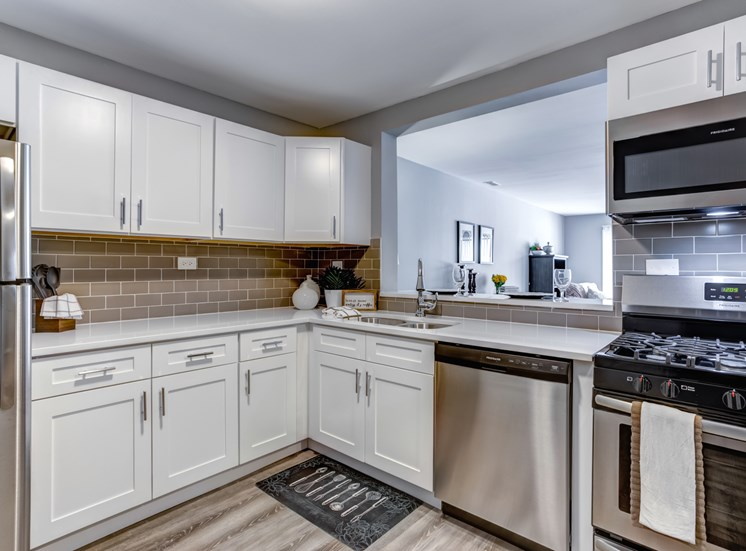 Fully Equipped Kitchen with Ample Storage