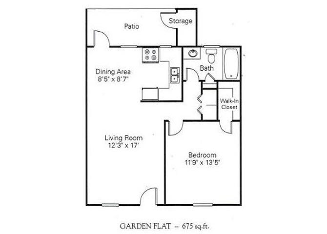 1.1 FLAT Floor Plan 1