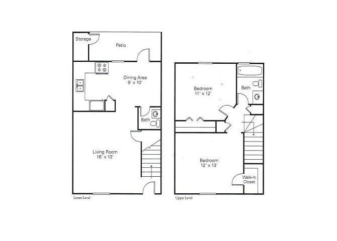 2.1 TOWNHOME Floor Plan 3