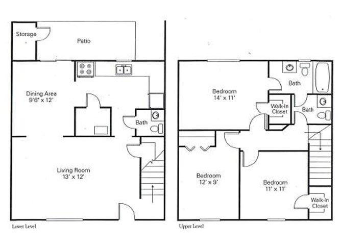 3.2 townhome Floor Plan 4