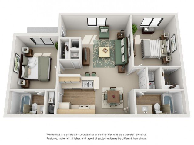 King Floor Plan 4