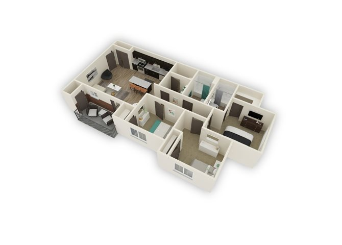 Harlow floor plan.