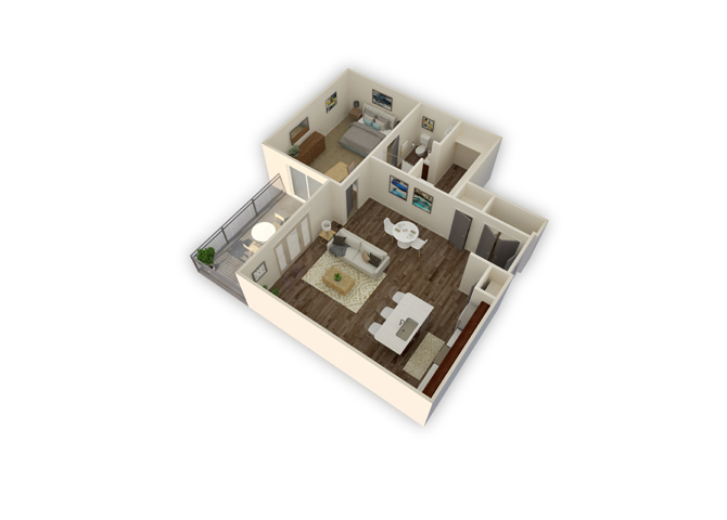 Capricorn floor plan
