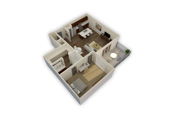 Equator w/garage floor plan