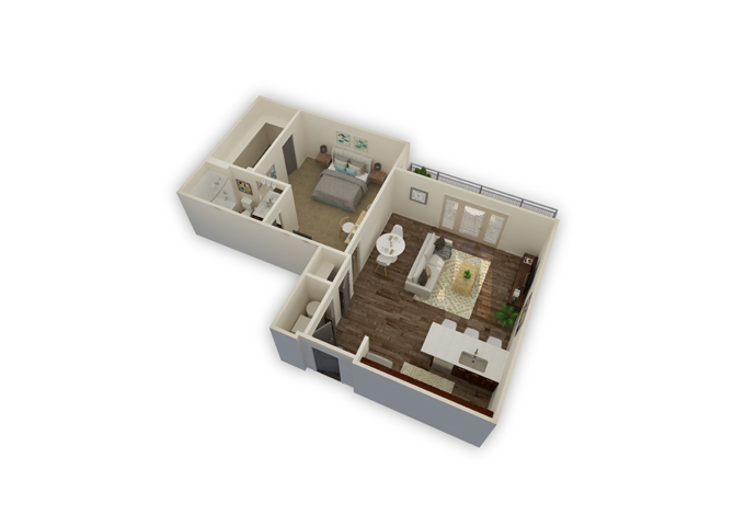 Meridian w/garage floor plan