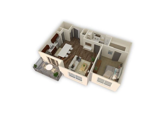 Prime w/garage floor plan