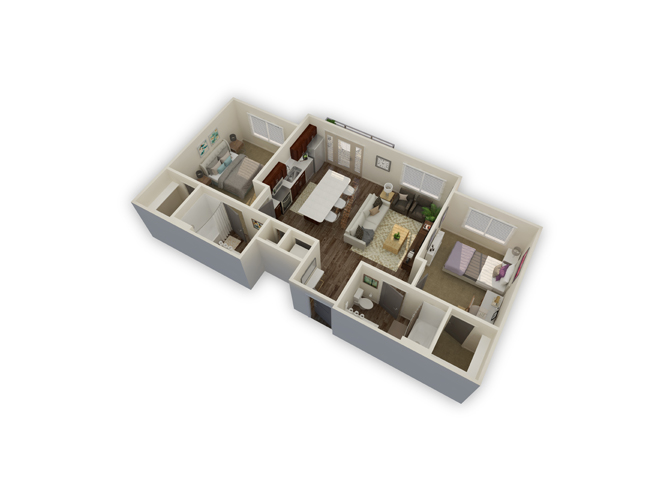 Temperate floor plan