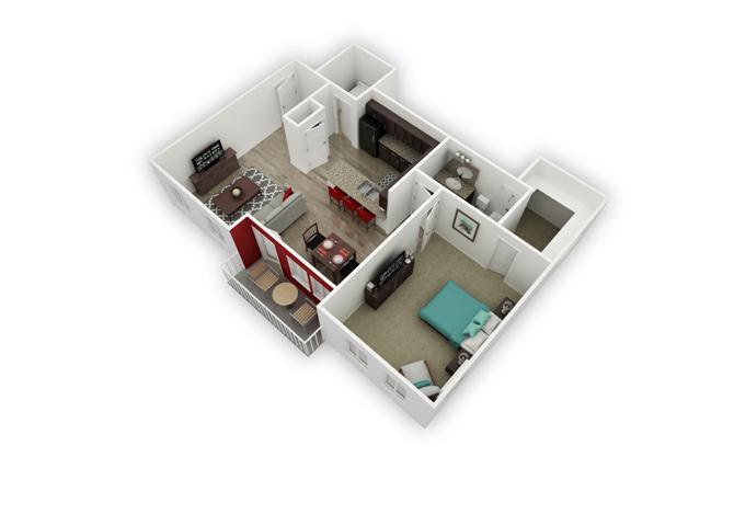Albion floor plan