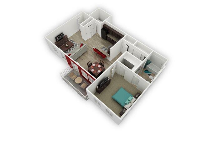 Gannett floor plan