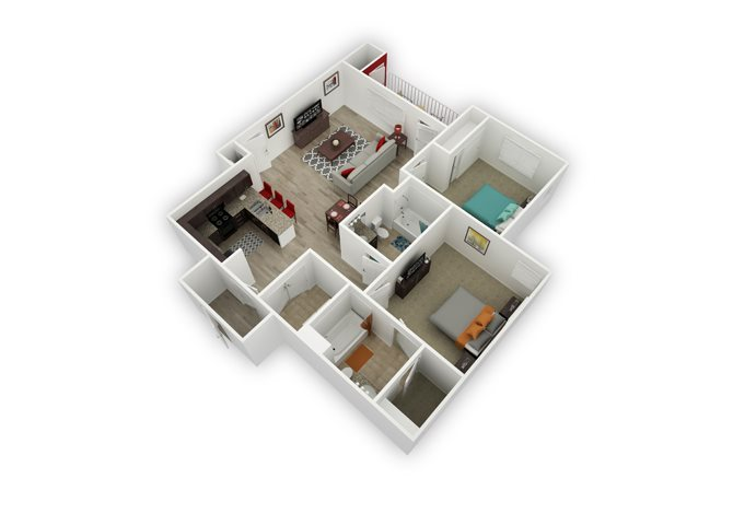 Hawley floor plan