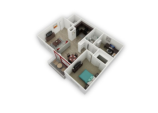 Picabo floor plan