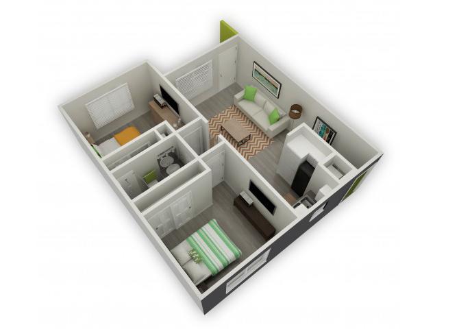 Denali floor plan