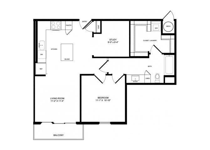 A5 floor plan.
