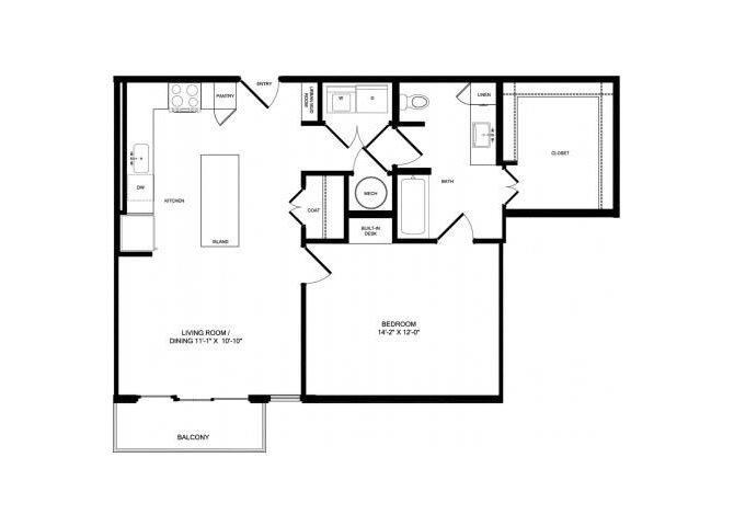 A6 floor plan.