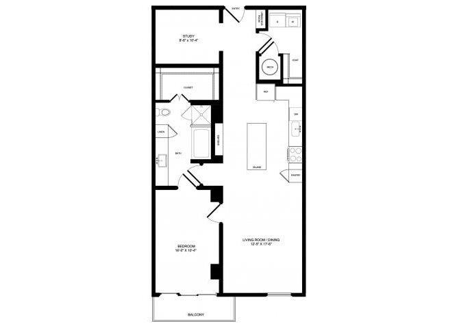 A8-ALT floor plan.