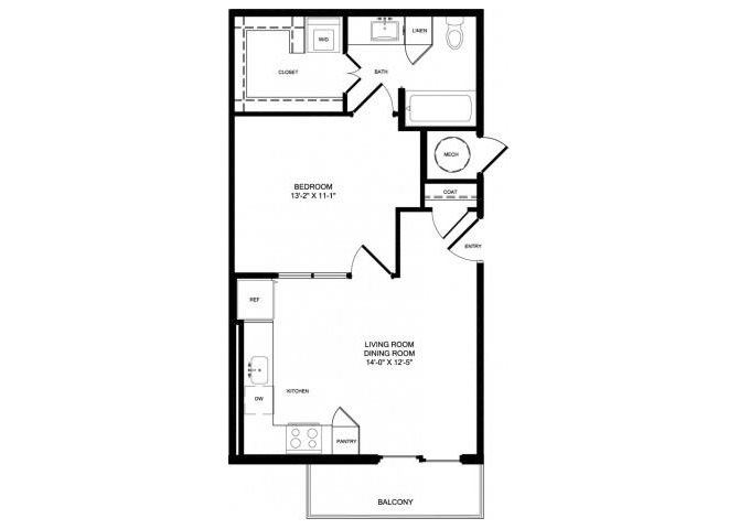 E1-ALT floor plan.