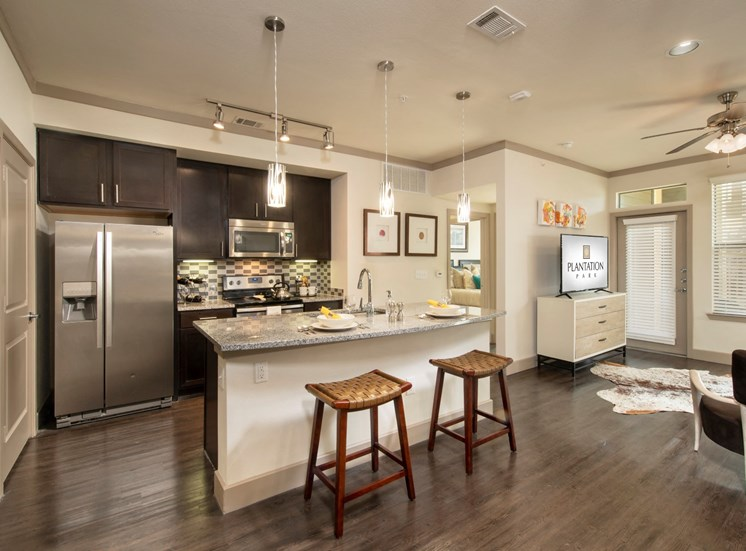 kitchen apartments in lake jackson