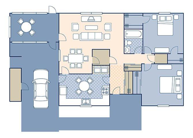 MenRiv B 1186 Floor Plan 4
