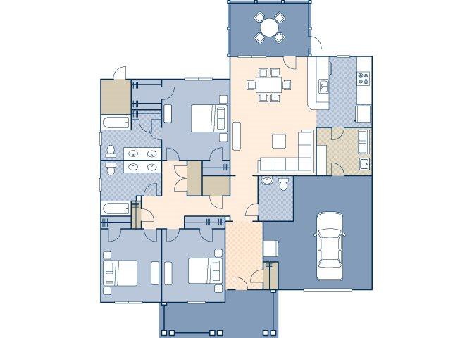 Patriots Point 1655 Floor Plan 1